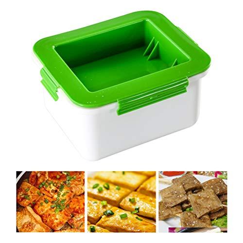 BSTCAR Tofu Presser, Tofupresse Wasserentfernungsgerät Tofu-Abflussbox Küchengeräte zum Entfernen von Wasser aus dem Tofu für schmackhafter