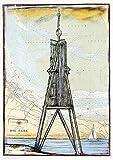 Kunstdruck/Poster: Ole West Kugelbake - hochwertiger Druck,