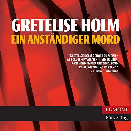 Ein anständiger Mord audiobook cover art