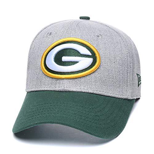 Eras edge Adult Men's Challenger Baseball Cap, Adjustable All-Star Baseball Hat (Green Bay Packers)