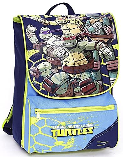 Mochila escolar Tortugas Ninja Turtles extensible incluido puño   regalo 7 bolígrafos