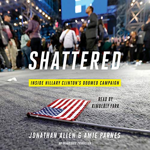 Couverture de Shattered