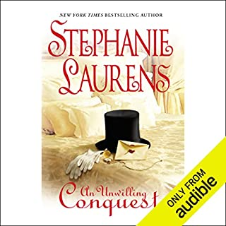 An Unwilling Conquest                   By:                                                                                                                                 Stephanie Laurens                               Narrated by:                                                                                                                                 Nellie Chalfant                      Length: 8 hrs and 51 mins     221 ratings     Overall 3.9