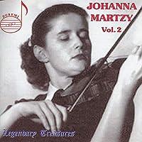Johanna Martzy Vol. 2