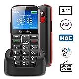 Best Cell Phone For Seniors - Ushining Seniors Cell Phones Unlocked SOS Button Hearing Review