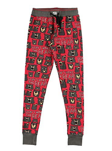 Don't Wake The Bear LazyOne Women's Leggings and Tees, Pajama Separates, Cozy Loungewear for Women (Small)