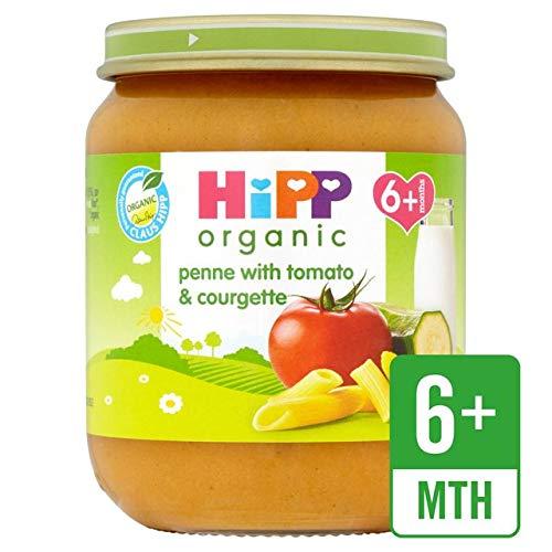 HiPP Penne Organique avec Tomates Et Courgettes 6+ Mois 125G - Lot De 2