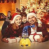 wojonifuiliy Leuchtender Weihnachts-Wichtelpaar Weihnachten Deko Wichtel für die Weihnachtsdeko, Weihnachtsmann Santa Gnom Dwarf Schwedische Tischdeko für Familie Weihnachtsdekoration (Grau) - 2