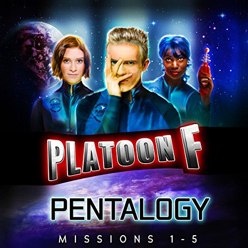 Platoon F: Pentalogy audiobook cover art