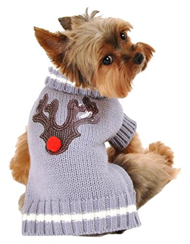 Hip Doggie HD-7RDR-XL Reindeer Sweater - Hundepullover, XL