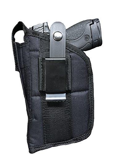Nylon Belt or Clip on Gun Holster Fits Beretta U22 Neos 22LR with 4.5' Barrel with Laser