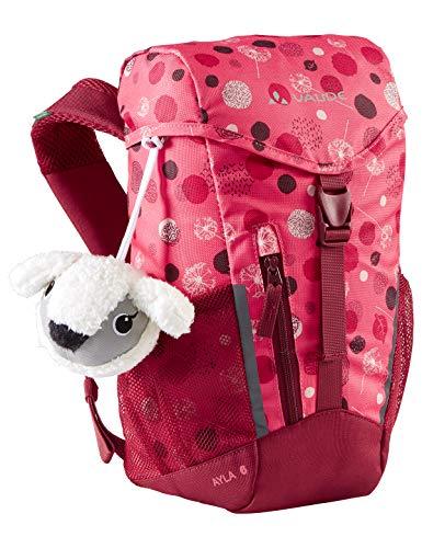 Vaude 15485 Kinder Ayla 6 Rucksäcke5-9L, Bright pink/Cranberry, Einheitsgröße
