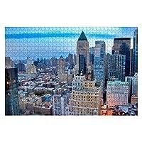 1000ピース ジグソーパズル 風景 ニューヨークの摩天楼 子供 おもちゃ 室内 プレゼント 誕生日プレゼント 女の子 男の子 知育玩具