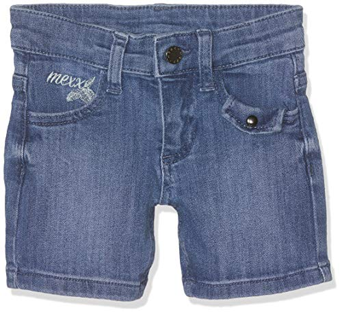 Mexx Mädchen Shorts, Blau (Light Blue 300004), (Herstellergröße: 128)