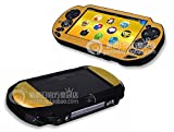 Szjay Metal Aluminum Metallic Protection Hard Case Cover for Playstation Ps Vita 1000