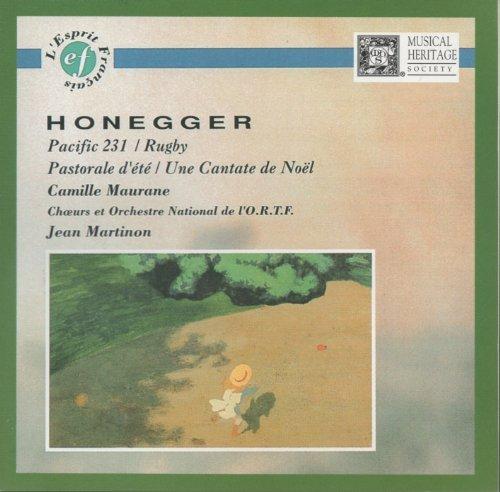 Arthur Honegger: Pacific 231 / Rugby / Pastorale d'et? / Une Cantate de Noel by Arthur Honegger (2000-08-02)
