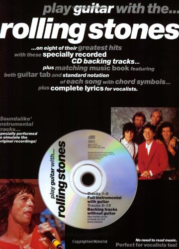 Play Guitar With... The Rolling Stones (Book & CD): Songbook, Bundle, CD, Tabulatur...