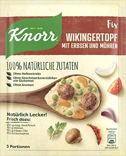 Knorr Natürlich Lecker Wikingertopf, 19er Pack (19 x 3 Portionen)