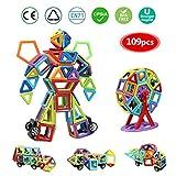 infinitoo Blocs Construction Magnétiques | 109 Pièces Mini Jeux de Construction...