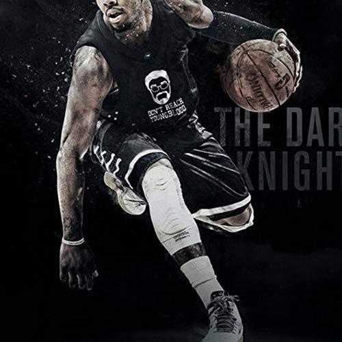 YANJJJ Personalidad NBA Baloncesto Uniforme Traje De Entrenamiento Deportivo Chaleco Jersey B-3XL(175-180cm)