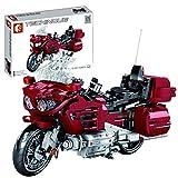 LINANNAN 1205 Piezas Conjunto de Motocicletas Personalizado Tecnología Racing Motorcycle Street Motocicleta Modelo Motorbike Kit de construcción Compatible con la técnica Lego