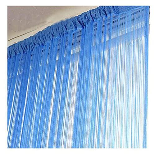 Panel de cortina, utilizado para el dormitorio y el balcón de la sala de estar, cortina de jacquard cortina translúcida, cortina de lino, tul plisado de lápiz (tamaño: 100 * 200 cm) ¡Creo que debe ser