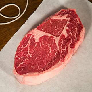 Porter & York, Natural Angus Beef Boneless Ribeye Steak 12oz 4-pack