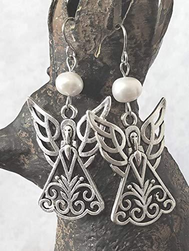 Angel Pearl Earrings