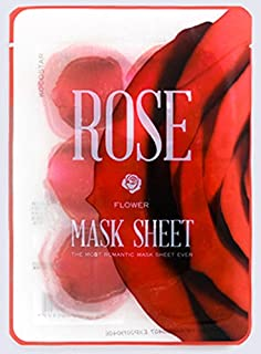 KOCOSTAR Flower Petal Mask Sheet Rose 10 Pouches