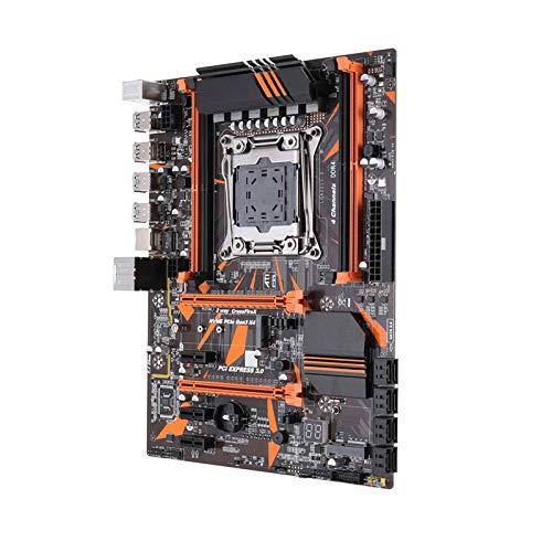 GIAO Tarjeta Madre Placa Base De La Computadora Fit For Kllisre X99 D4 Conjunto De Placa Base con Xeon E5 2620 V3 LGA2011-3 CPU 2pcs X 8GB = 16GB 2666MHz DDR4 Memoria Computer Motherboard