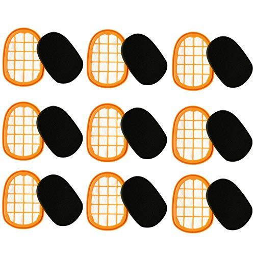 PUHE Piezas de repuesto para aspiradoras Philips FC6822 FC6823 FC6827 FC6908 FC6906 FC6904 piezas de aspiradora Accesorios (Color: amarillo claro)