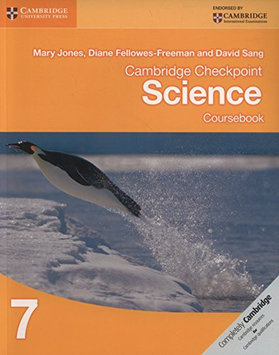 Cambridge Checkpoint Science Coursebook 7: Vol. 7