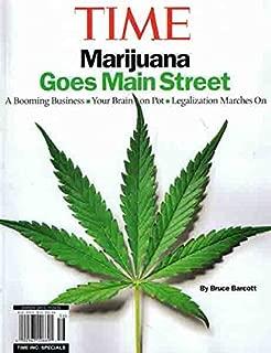 Time Magazine (Special) : Marijuana Goes Main Street ~ Pot Legalization ~ NEW
