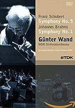 Gunter Wand: Franz Schubert - Symphony No. 5 / Johannes Brahms - Symphony No. 1