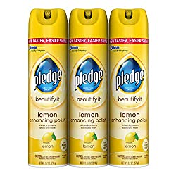 Pledge Lemon Enhancing Wood Furniture Polish Review