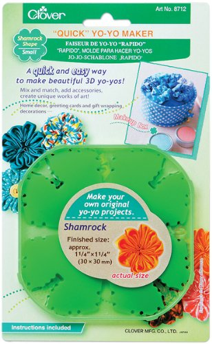 Quick Yo Yo Maker -Small Shamrock 1 pcs sku# 644506MA