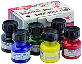 Koh-I-Noor Hardtmuth Set of Drawing Inks, 20g, 6pcs