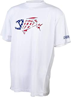 Loomis G Skeleton Fish Logo Short Sleeve Tech Shirt