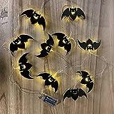 Accessoires De Lanterne D' Halloween LED, Lumières Décoratives De Citrouille 12 * 12 * 40