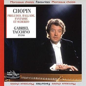 Chopin : 24 préludes ballade fantaisie scherzo