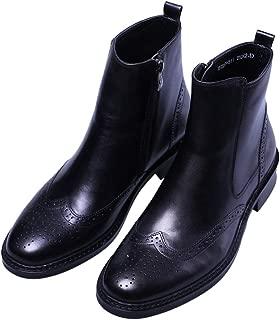 brogue motorcycle boots