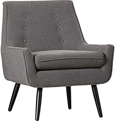 Amazon.com: Linón trelis Tufted Arm Chair: Kitchen & Dining