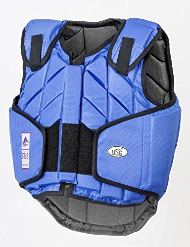 United Sportproducts Germany USG 4250693690316 Panel-Sicherheitsweste Eco-Flexi, Royalblau, Kinder L