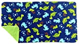 Piggy BedSpreads Washable Absorbent Fleece Cage Liner for Midwest Guinea Pig Habitat (Big Dino)