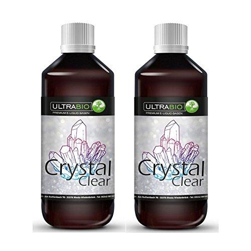 Ultrabio® Deutsche Liquid Crystal Clear Basen 2000ml 70/30 (70% VG / 30% PG) e liquid Base ohne Nikotin