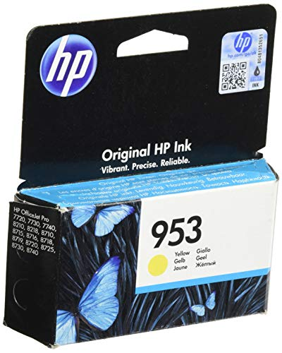 HP Tinta F6U14AE Nº 953 Amarillo
