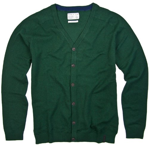 Jack and Jones Premium Pullover Cardigan! Olive: Größe: XXL