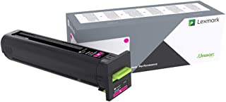 Lexmark Extra High Yield Magenta Return Program Toner Cartridge for US Government, 22000 Yield (72K0XMG)
