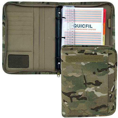 Mercury Tactical Gear Large Multicam Padfolio Ring Binder (MRC8615-MUL)
