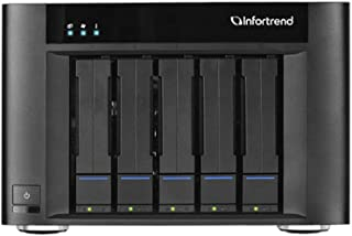 Infortrend | GSEP2050000D-8T | EonStor Gse Pro 200 Desktop 5-Bay, Cloud Integrated Unified Storage, 40TB, 8TB HDD (x5)